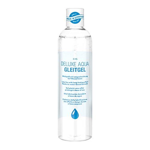 Deluxe Aqua Gleitgel von EIS, wasserbasierte Langzeitwirkung, neutral, 300 ml