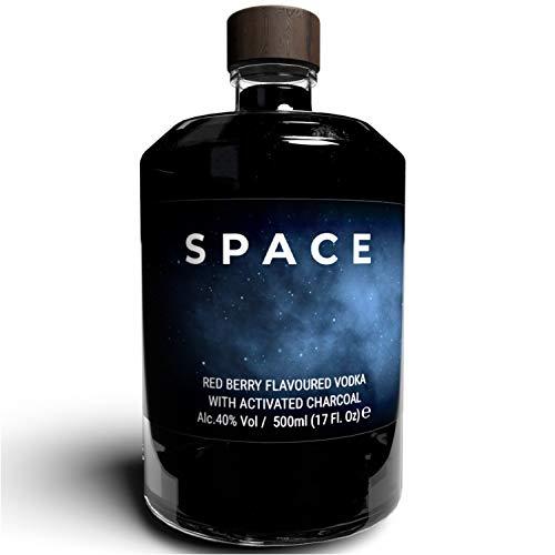 THE VODKA COLLECTIVE - Space Vodka Red Berry - Wodka mit roten Beeren Geschmack I Geschenke für Freunde, Shot...