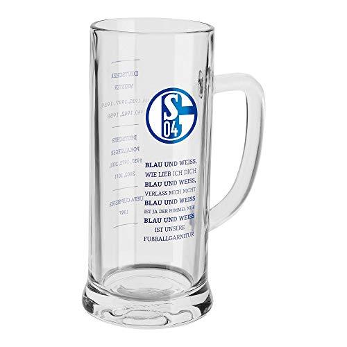 FC Schalke 04 Bierkrug Blau & Weiß 'Erfolge'