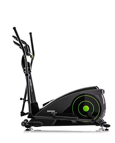 Zipro Erwachsene Magnetischer Crosstrainer iConsole Dunk bis 150kg, Schwarz, One Size, einheitsgröße