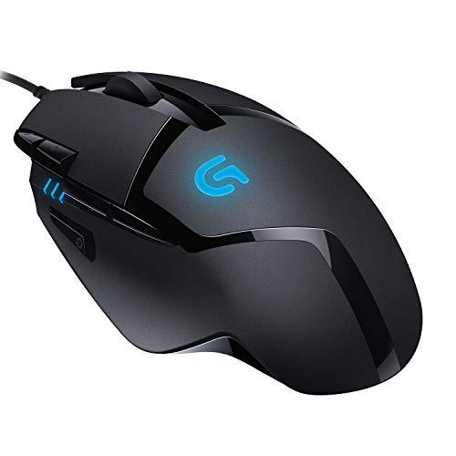Logitech G402 Hyperion Fury Gaming-Maus, 4000 DPI Optischer Sensor, 8 Programmierbare Tasten, Taste zur...