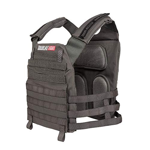 TRAINLIKEFIGHT OLDSKULL Vest Verstellbare Gewichtsweste für Training, Crossfit, Calisthenie, Fitness...