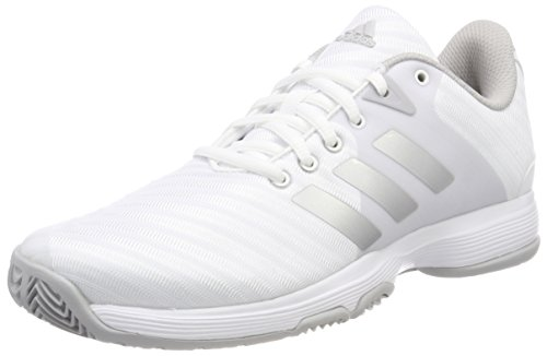 adidas Damen Barricade Court W Tennisschuhe, Weiß (Ftwbla/Plamat/Gridos 000), 38 2/3 EU
