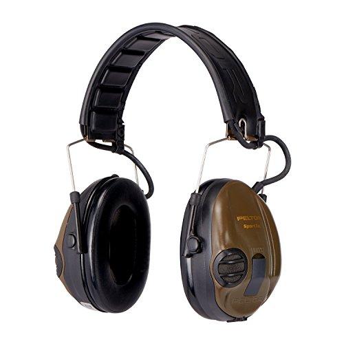 3M Peltor SportTac Gehörschutz grün - Intelligente Ohrschützer mit effektiver Schalldämmung speziell für...