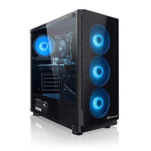 Megaport Gaming PC AMD Ryzen 5 2600X 6 x 4.20 GHz Turbo • Nvidia GeForce GTX 1650 4GB • 240GB SSD •...