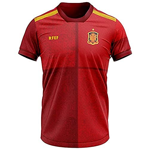 RFEF - Official home Trikot Replik der spanischen Nationalmannschaft in Euro 2020, M