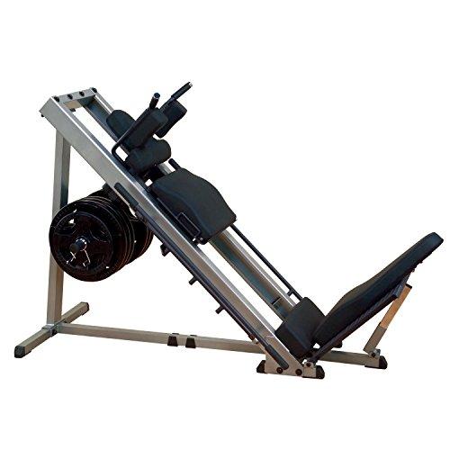 Beinpresse Body-Solid® GLPH1100 + 120 kg Olympia Hantelscheibenset