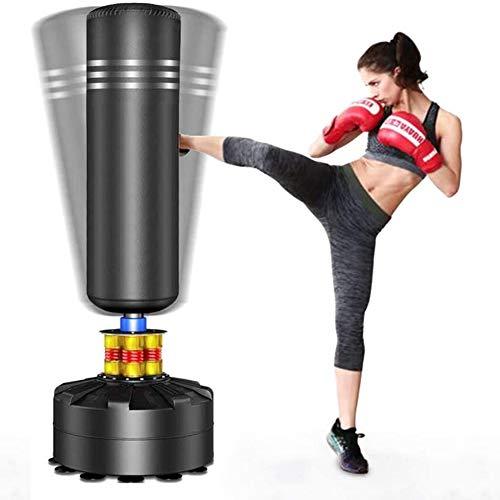 YOLEO Boxsack Standboxsäcke Trainingsgeräte Erwachsene Freistehender Standboxsack Boxing Trainer Heavy Duty...