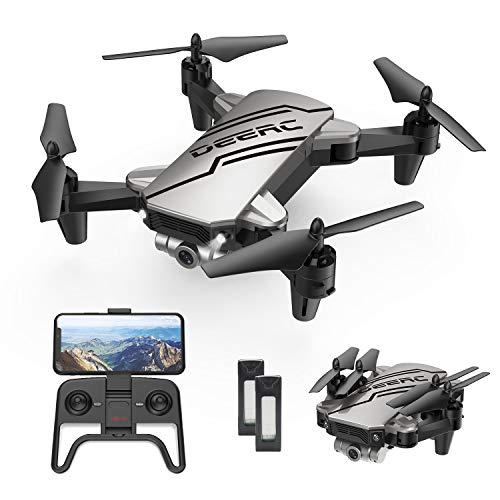 DEERC D20 Mini Drohne für Kinder mit Kamera HD 720P,Faltbar RC Quadcopter mit FPV Wlan Live Übertragung,2...