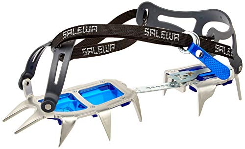 SALEWA ALPINIST ALU WALK Steigeisen, Steel/Blue, UNI