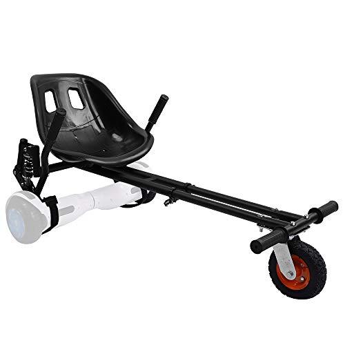 YOLEO Hoverboard Sitz Pro, Hoverkart Sitzscooter mit Dämpfungsfedern verdickter Sitz Tragfähigkeit bis 120...
