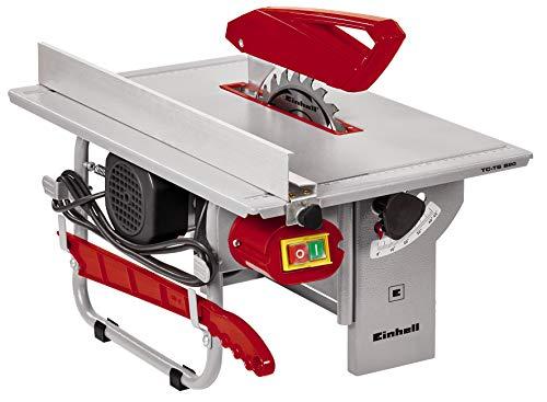 Einhell Tischkreissäge TC-TS 820 (800 W, Sägeblatt-Ø 200 mm, max. Schnitthöhe 45 mm, Tischgröße 500 x...