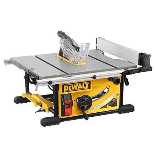 Dewalt Tischkreissäge DWE7492 (2.000 Watt, 250 mm, 77 mm max. Schnittbereich, beidseitiger Parallelanschlag,...