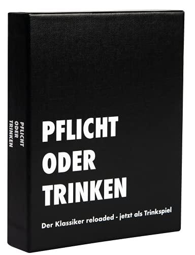 Pflicht oder Trinken® - der Klassiker Reloaded - jetzt als Trinkspiel | Partyspiel - Kartenspiel -...