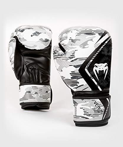 Venum Defender Contender 2.0 Boxhandschuhe, Schwarze/Grün, 12 oz