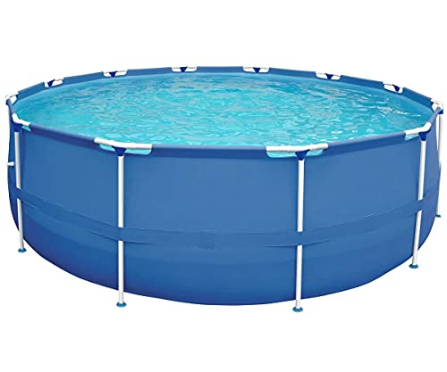 Stahlramen Aufstellpool 360 x 76 cm Frame Pool Swimming Pool Schwimmbecken Gartenpool ohne Pumpe