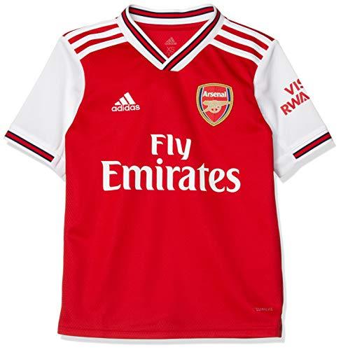 adidas Kinder Arsenal FC Home Jersey 2019/20 Trikot, Scarlet, 140