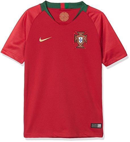 Nike Kinder Portugal Stadium Home T-Shirt, rot, XL
