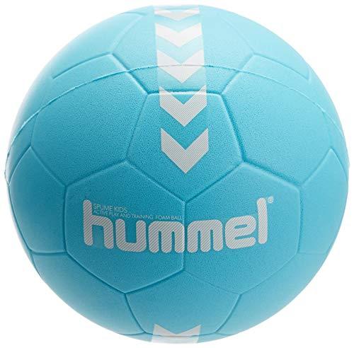 Hummel Unisex Kinder HMLSPUME Kids-Handball, türkis/Weiß, 0