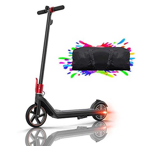 Elektroroller Kinder E Scooter, 15 Km Reichweite Elektroscooter E Roller Kinderroller E Tretroller 150W Motor...