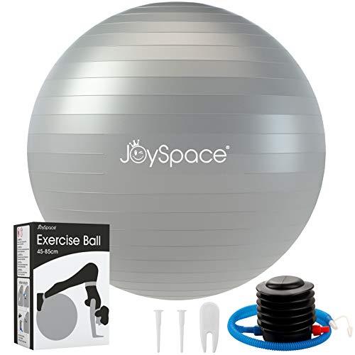 JOYSPACE Gymnastikball 75cm Sitzball Extra Dicker Yoga-Ball-Stuhl Anti-Berst-Stabilitätsball Pilates Ball als...