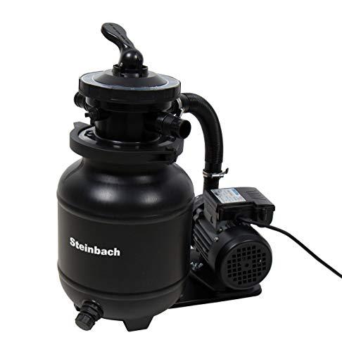Steinbach Filteranlage Active Balls+, Umwälzleistung: 3,8m³/h, 230 V/200 W, 7-Wege-Ventil, Anschluss Ø...