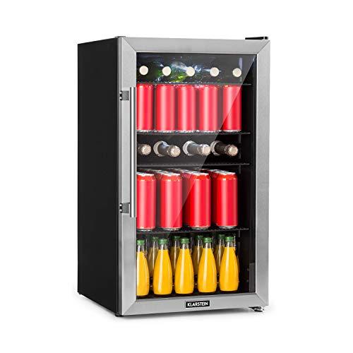 Klarstein Beersafe 3XL Khlschrank - Getrnkekhlschrank, 98 Liter, Energieeffizienzklasse A+, 83 cm Hhe, 4...