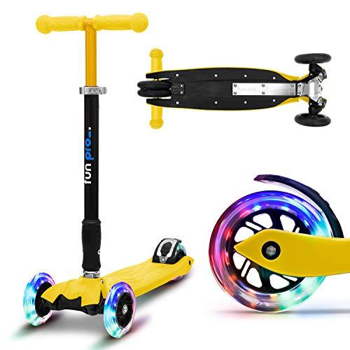 fun pro Two, ab Vorschulalter, bis 80KG Gewicht, der sichere Premium Kinder Roller (Tretroller, Kickboard,...