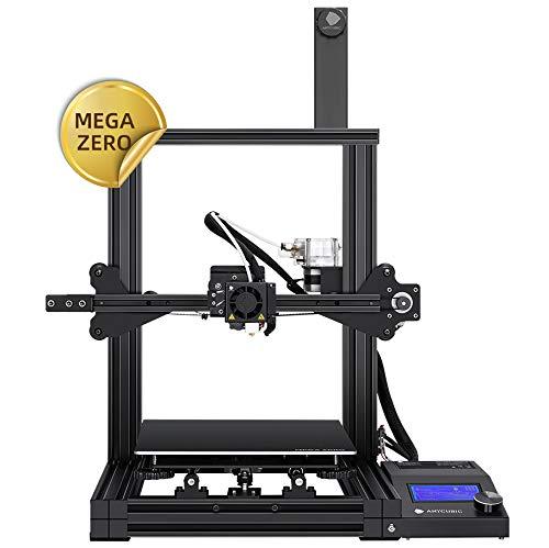 ANYCUBIC MEGA ZERO FDM 3D Drucker mit Baugröße 220 x 220 x 250mm Y-Achsen Doppel Trapezgewindespindel und...