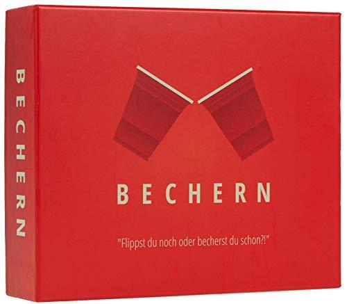 BECHERN® - Der ultimative Mix aus Kings Cup & Flip Cup! - Das neue Kult Partyspiel für euren Spieleabend!...