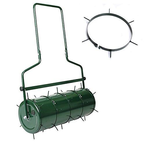 Rasen - Aerator SET für Walze Rasenlüfter Gartenwalze Spikes Metalldornen OHNE WALZE
