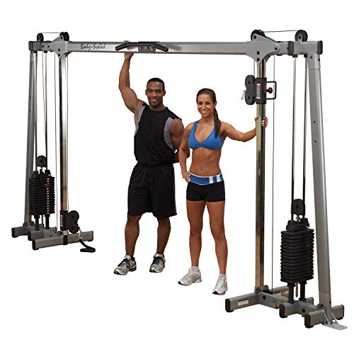 BODY-SOLID GDCC-250 Functional Training Center Cable Cross Over Maschine Studio