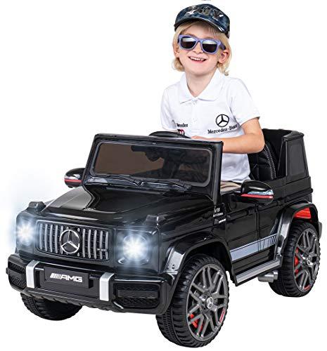 Actionbikes Motors Kinder Elektroauto Mercedes Benz Amg G63 W463 - Lizenziert - 2,4 Ghz Fernbedienung -...