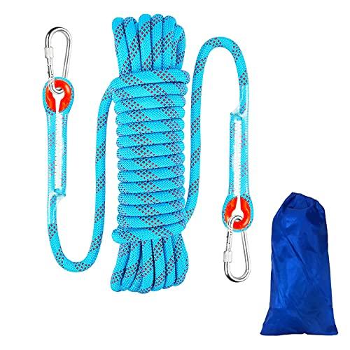 10 Meters 8mm Kletterseil Sicherheitsseil Survival Seil, Climbing, Rope, Outdoor Seil Rettungsseil...