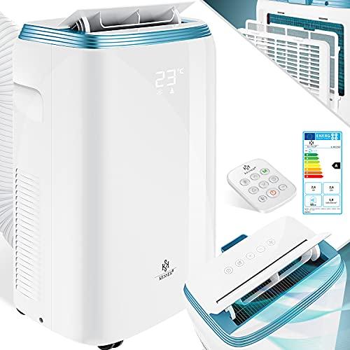 KESSER® Klimaanlage Mobil Klimagerät 4in1 kühlen, Luftentfeuchter, lüften, Ventilator - 9000 BTU/h (2.600...