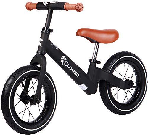 Clamaro 'Roadstar' 12' Kinder Laufrad ab 1 Jahr für Jungen und Mädchen, Balance Lauflernrad mit leichtem 3,6...