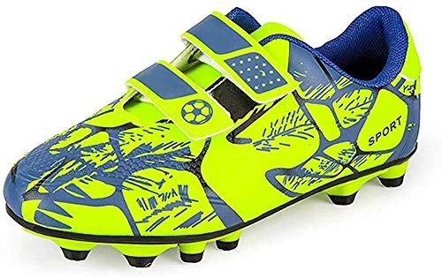 Fußballschuhe Kinder Fussballschuhe Jungen Unisex Multinocken Football Shoes Halle Hallenschuhe FG Outdoor...