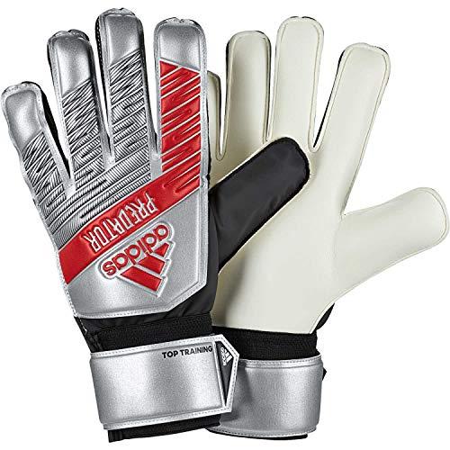 adidas Herren Predator Top Training Torwarthandschuhe, Silver met./Black, 8.5