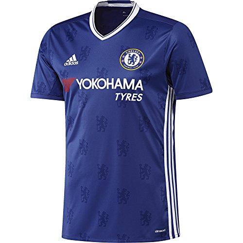 adidas Herren Fußball/Heim-Trikot FC Replica, Chelsea Blue/White, L