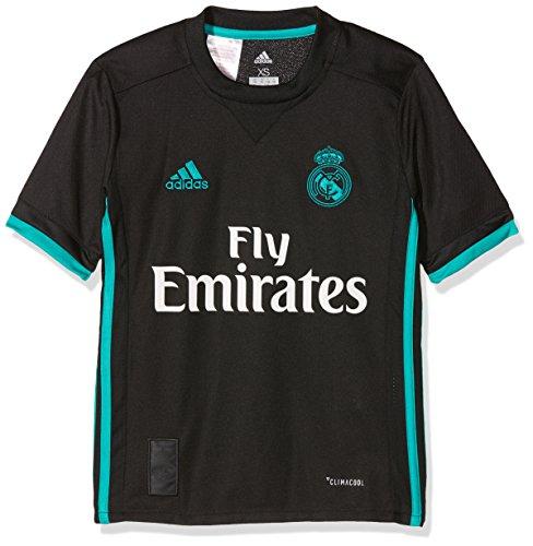 adidas Kinder Real Madrid Auswärtstrikot Real Madrid Auswärtstrikot Replica, Black/Aerree, 164, B31092