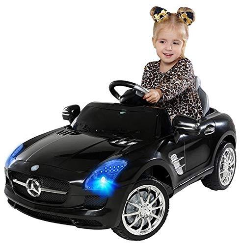 Actionbikes Motors Kinder Elektroauto Mercedes Benz AMG SLS - Lizenziert - Rc 2,4 Ghz Fernbedienung - Led -...