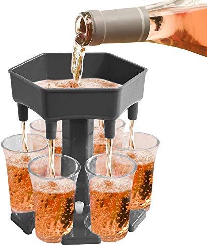 Alihoo 6 Schnapsglasspender und -halter, Shot Dispenser Six Ways, Bar Shot Dispenser, Cocktailspender,...