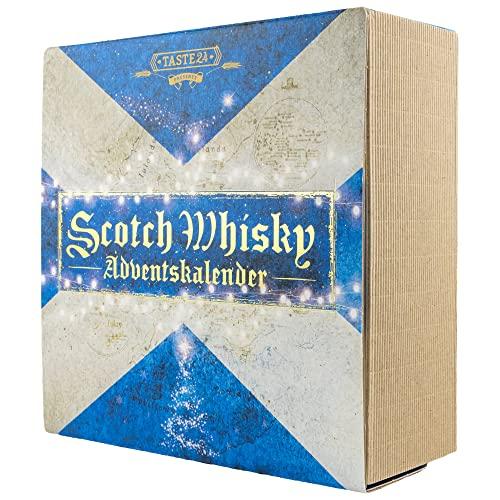 Taste 24 Adventskalender 2021 Whisky Scotch 24 x 0,02 Liter