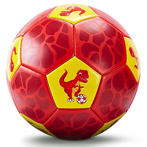 Fußball Spielzeug Mit Ballpumpe und Netz, Kinder Fußball Ball für das Training Drinnen Draußen, Fußball...