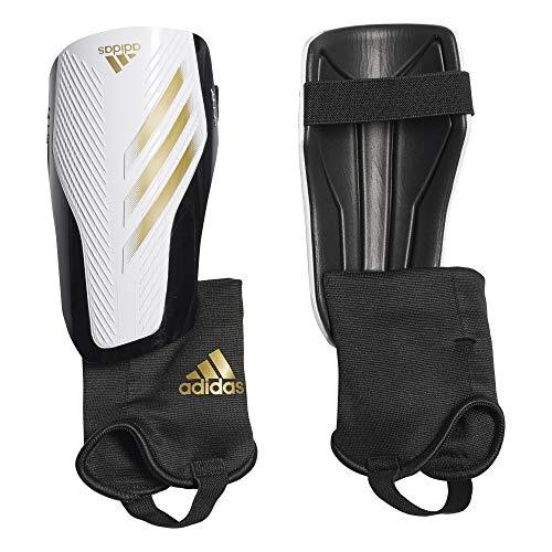 adidas Erwachsene X 20 Match Schienbeinschoner, White/Gold met./Black, S