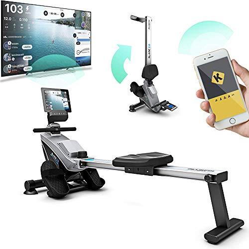 Bluefin Fitness Blade zusammenklappbares Rudergerät für Dein Heim-Gym | Rudergerät mit Magnetwiderstand |...