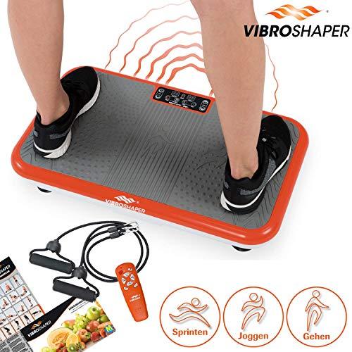 Mediashop VibroShaper – Fitness Vibrationsplatte bringt den Körper in Form – Vibrationstrainer für...