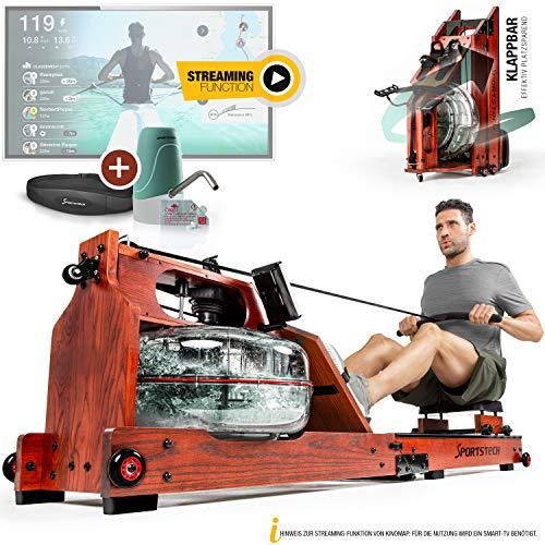 Messe-Neuheit 2020! Premium Wasser-Rudergert mit patentierter Klappfunktion+App Funktion + Multiplayer & Video...