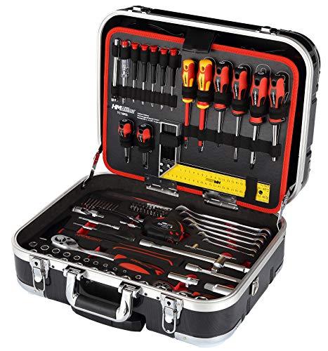Werkzeugkoffer bestückt 147-teilig, fahrbar