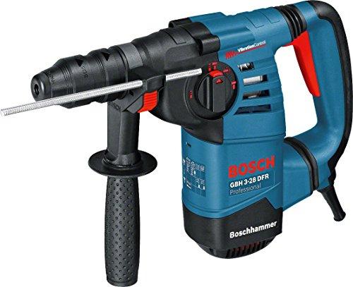 Bosch Professional Bohrhammer GBH 3-28 DFR (800 Watt, Schlagenergie max: 3,1 J, Wechselfutter SDS-plus, im...